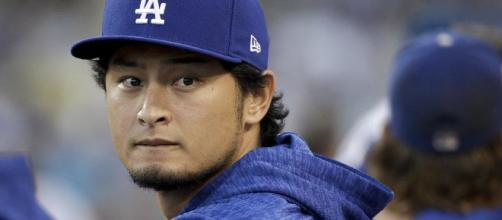 Darvish joins the Cubs [Image via @bigleaguestew Twitter]