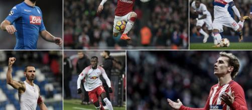 Dries Mertens, Mesut Özil, Nabil Fekir, Antoine Griezmann, Naby Keïta y Leonardo Bonucci - solo algunas de las estrellas
