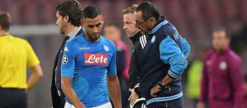 Ghoulam, giocatore del Napoli calcio