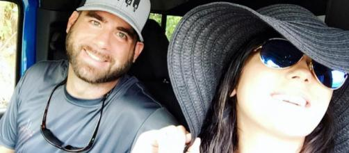 Jenelle Evans poses with husband David Eason. - [Photo via Facebook]