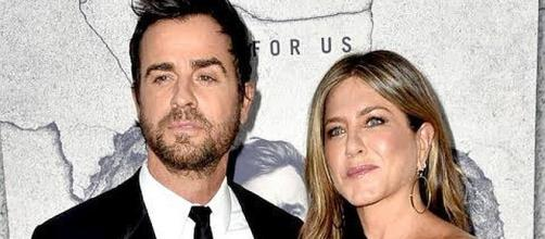 Jennifer Aniston and Justin Theroux have separated [Image Credit: TMZ/YouTube screenshot]