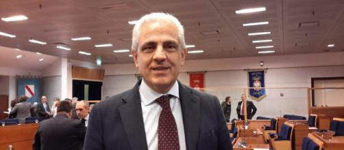 Luciano Passariello in Consiglio Regionale a Napoli