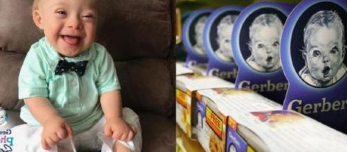 Por primera vez en 90 años, Gerber, la marca de compotas y cereales, eligió como imagen a un bebé con síndrome de Down