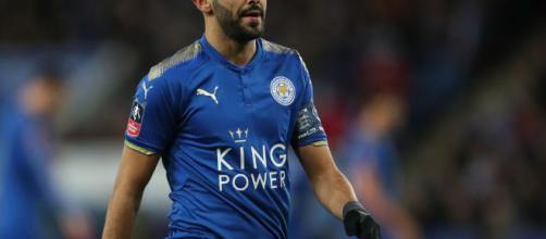 Riyad Mahrez regresó al lado de Leicester contra el Manchester City