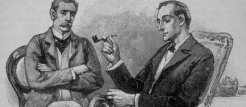 Sherlock Holmes with Dr. Watson | CC: www.bigthink.com