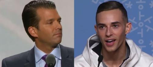 Trump Jr. ataca al olímpico Adam Rippon por la disputa de Mike Pence - washingtonexaminer.com