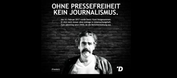 Die Seite dwdl.de ist seit dem 14.02.2018 offline - aus Solidarität für Deniz Yücel / Foto: Screenshot