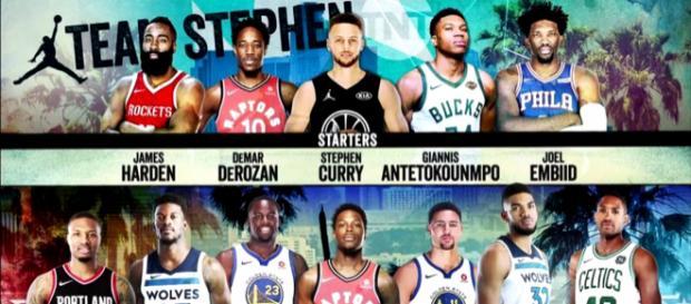 e953194239b NBA All-Star 2018 Teams Revealed! -  Chris Smoove   YouTube screencap