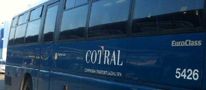 Roma, aghi sui bus extraurbani Cotral
