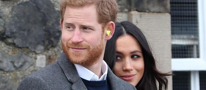 Meghan Markle y el Príncipe Harry visitaron Edimburgo