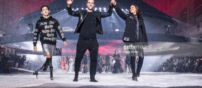 Philipp Plein, à la Fashion Week de New York : un défilé époustouflant!
