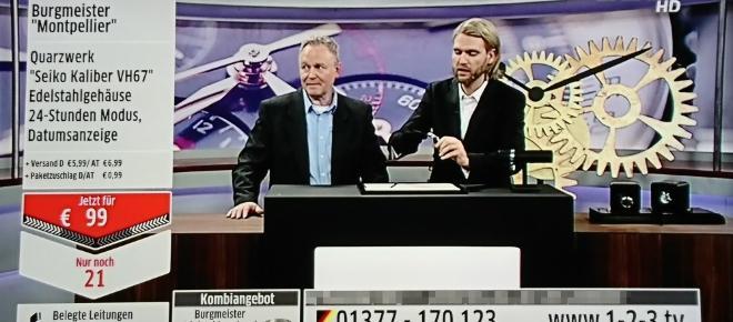 123tv Uhrenquatsch mit Robin Bade: Was ist eine echte Burgmeister?