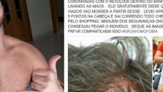 Ator sofre agressão de homofóbicos dentro de banheiro