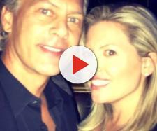 David Beador poses with new girlfriend Lesley Cook in Las Vegas, Nevada. [Photo via Instagram]