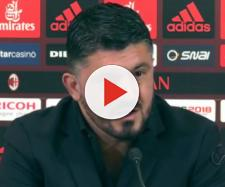 Gattuso in conferenza stampo nel post partita