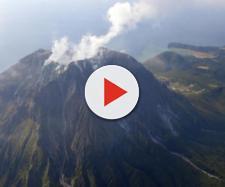 Il supervulcano Kikai in Giappone