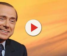 In alto, Silvio Berlusconi, ex presidente del Consiglio