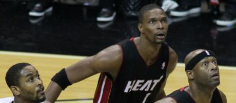 Chris Bosh wants to return to the NBA [Image by Keith Allison / Flickr]