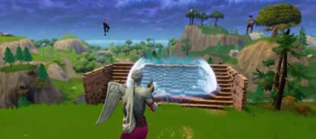 Impulse Grenade in action in 'Fortnite' - (Image : Fortnite/YouTube
