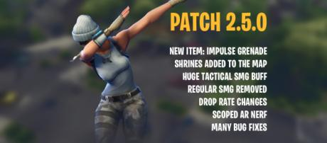 "New ""Fortnite"" patch is out! Image Credit: Own work"