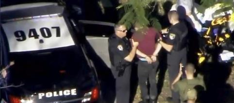 Criminalul de 19 ani responsabilul atacului de la liceul din Florida a fost arestat - Foto: captură video, WSVN.com via REUTERS