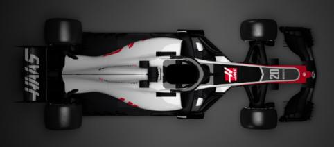 Haas first to reveal 2018 F1 car (above) - formula1.com