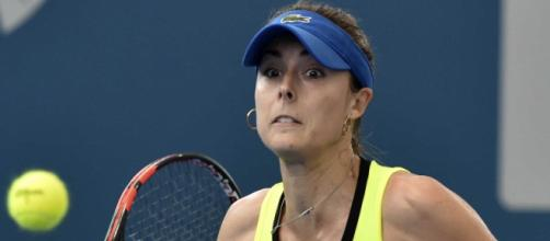 Alize Cornet Dominates Shaky Eugenie Bouchard to Win Hobart Title ... - ndtv.com