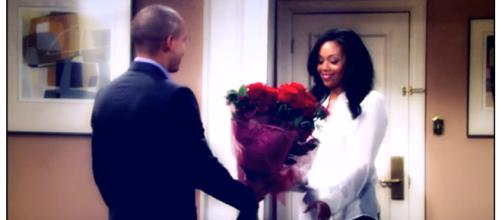 Devon finds out Hilary's secret on Y&R. (Image via The Young and the Restless Worldwide fans youtube screencap).