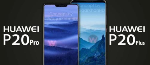 Huawei P20 Concept Renders Surface Based On Schematic Leaks ... - androidheadlines.com