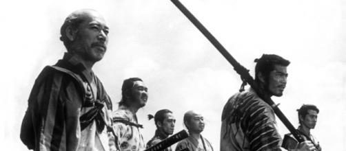 Imagen de Los siete samuráis, de Akira Kurosawa