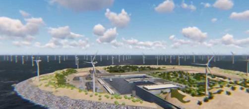 Isla artificial en Europa proporcionará energía renovable.