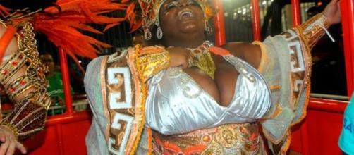 Jojo Todynho foi um dos destaques da Beija-Flor, no Carnaval do Rio de Janeiro