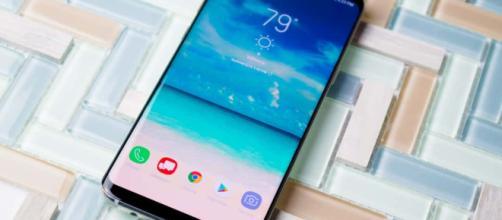 Lo smartphone Android Samsung Galaxy S8