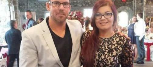 Matt Baier and Amber Portwood attend Maci Bookout's wedding. [Photo via Instagram]