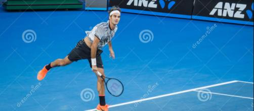 Roger Federer in Australian Open Photo Taken On: January 24th, 2017, Image via stockfreeimages