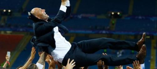 Zidane content après la victoire face au Paris Saint-Germain !