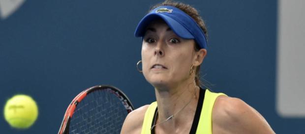 Alize Cornet Dominates Shaky Eugenie Bouchard to Win Hobart Title ... - ndtv.com