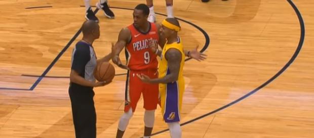Both players were once point guards for the Boston Celtics. - [Image via CliveNBAParody / YouTube Screencap]