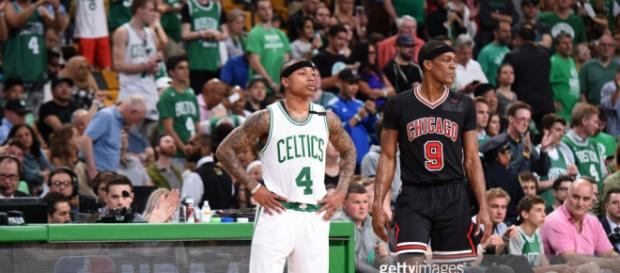 Chicago Bulls v Boston Celtics - Game One Photos and Images ... - gettyimages.co.uk