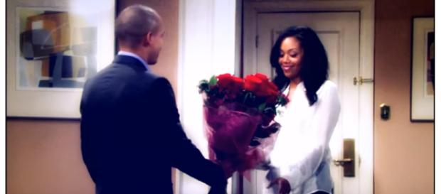Devon may possibly be Hilary's sperm donor on Y&R. (Image via WrecklAce Love Youtube screencap).