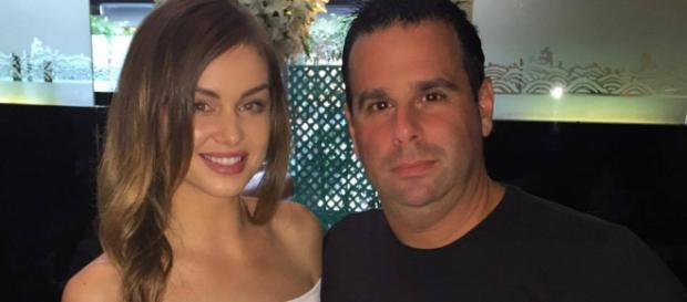 Lala Kent and Randall Emmett have dinner. [Photo via Facebook]
