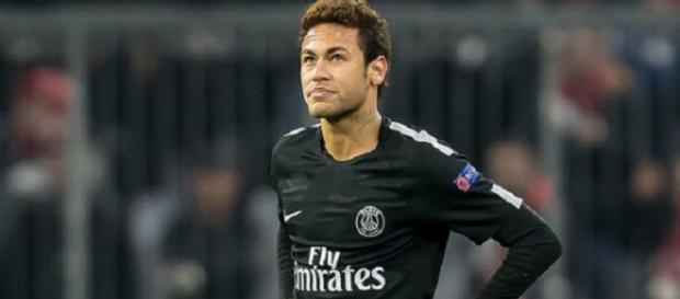 Neymar não se destacou no grande jogo