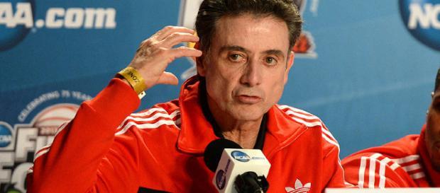Rick Pitino, former head coach of the Louisville Cardinal men's basketball team. (Image Credit: Adam Glanzman/Youtube)