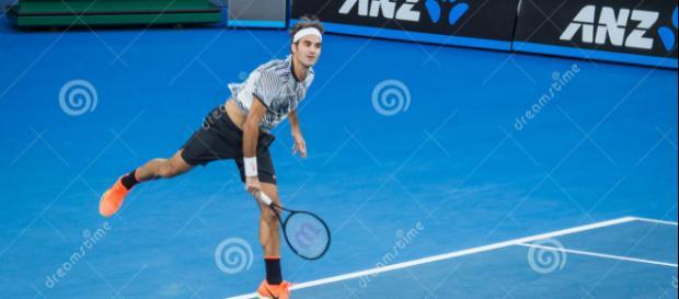 Roger Federer in Australian Open Photo Taken On: January 24th, 2017, Image via stockfreeimages