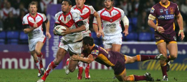 St Helens beat Brisbane Broncos 18-14 in the 2007 World Club Challenge. Image Source - photoshelter.com