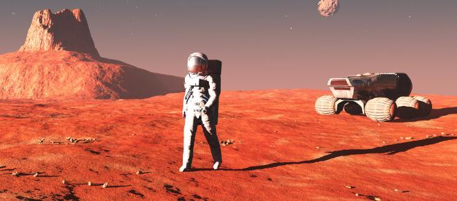 Cinco cosas que necesitaríamos para que la gente vaya a Marte.