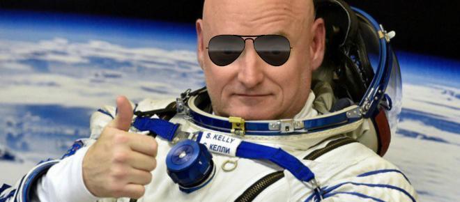 Scott Kelly pasó un año en el espacio bebiendo orina reciclada.