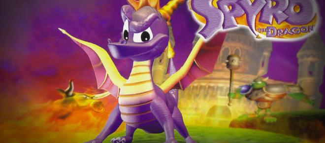 Spyro Trilogy is being remastered for PlayStation 4 this year