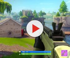 """Fortnite"" Battle Royale in the first-person point of view. Image Credit: DanMak / YouTube"