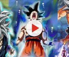 Goku libera su nuevo poder White